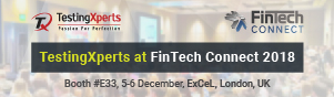 TestingXperts at FinTech Connect UK 2018