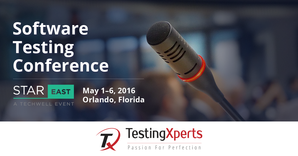 Join us at Booth 30 at STAREAST – Software Testing Conference