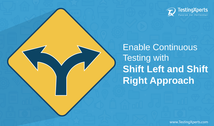 Enable Continuous Testing with Shift Left and Shift Right Approach