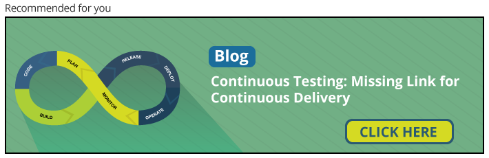 Continuous Testing: Missing Link for Continuous Delivery - Blog