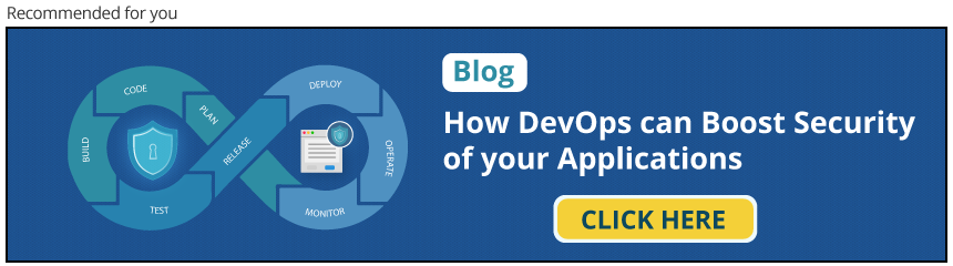 Boost Security of your application with DevOps