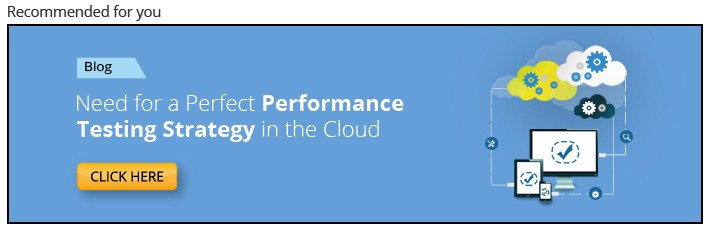 Effective Cloud-based performance testing strategy