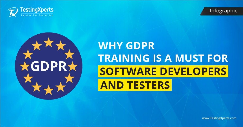 Why GDPR Training is a MUST for Software Developers and Testers- Infographic