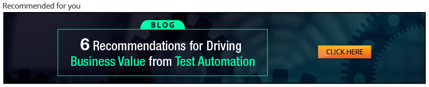 Automation testing services drive business value through QA