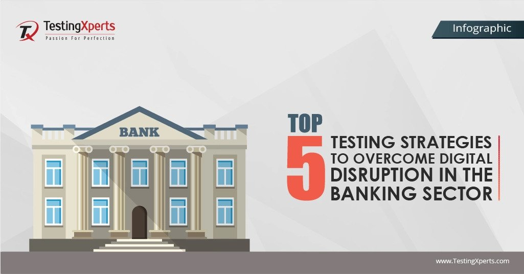 Top 5 Testing Strategies to Overcome Digital Disruption in the Banking Sector