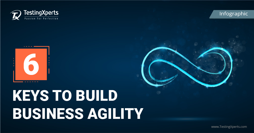 6 Keys to Build Business Agility- Infographic