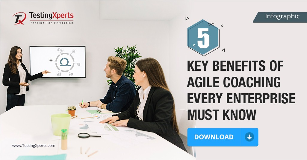 5 Key Benefits Of Agile Coaching Every Enterprise MUST Know- Infographic