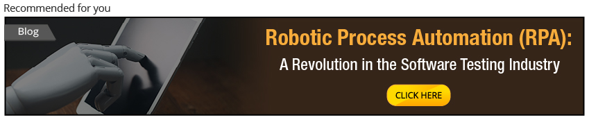 Robotic Process Automation and Software testing