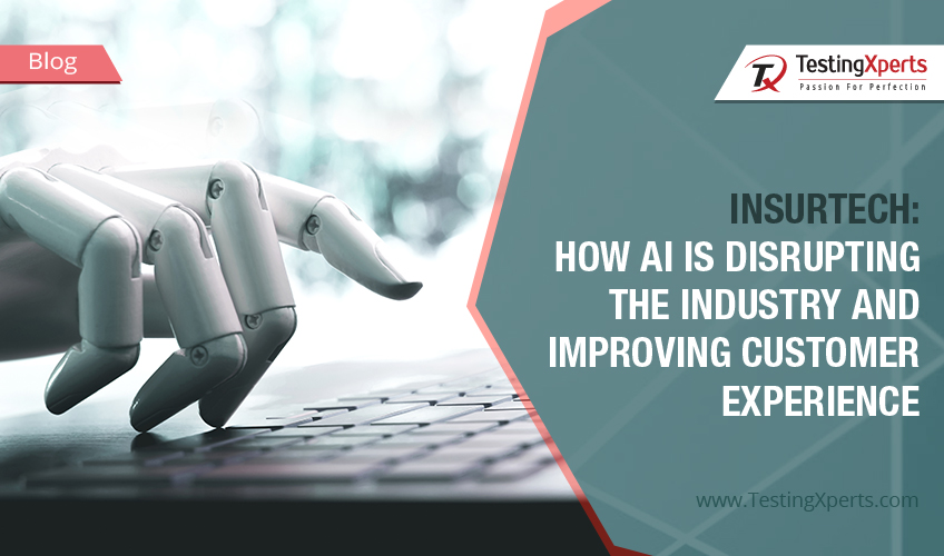 Insurance giants and innovative startups are seeing AI disruption as an opportunity to step up their game in terms of excellent product offerings and customer service. Read this blog to know how AI is disrupting the industry and improving customer experience.