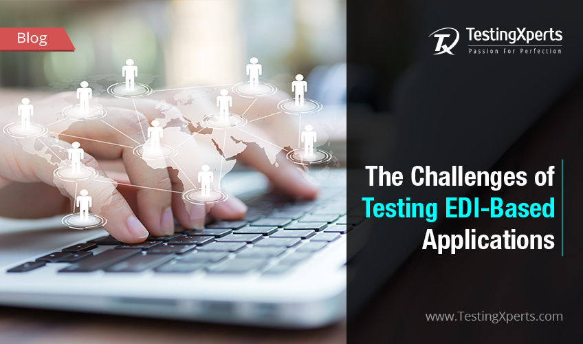 EDI based application testing services