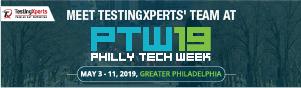TestingXperts at Philly Tech Week 2019