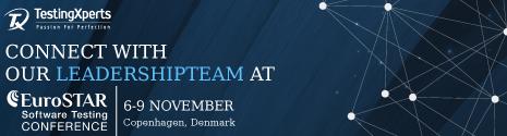 EuroSTAR Conference – Copehagen, Denmark (Nov 6-9, 2017)