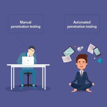 manual vs automated penetration testing