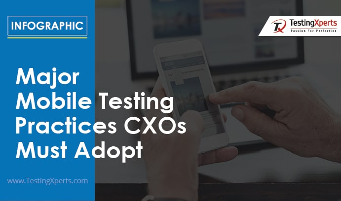 Major Mobile Testing Practices CXOs Must Adopt (Infographic)