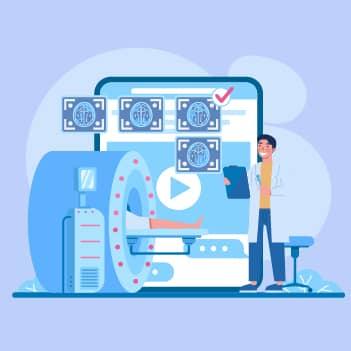 Screen diagnostic reports - AI