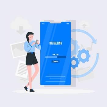 App installation time - performance testing metrics